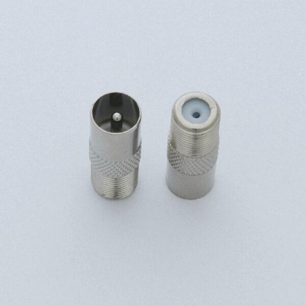 TEROZ redukce F zásuvka/IEC kolík