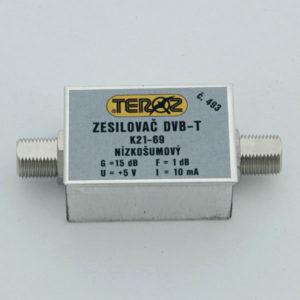 TEROZ zesilovač DVB-T +5V 493
