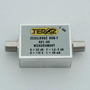 TEROZ dvoutranzistorový zesilovač DVB - T 408