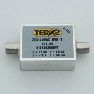 TEROZ zesilovač DVB-T 433