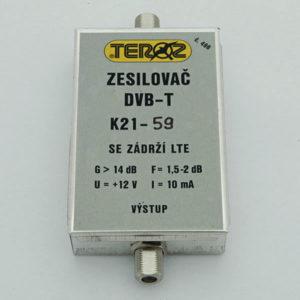 TEROZ zesilovač s filtrem LTE 496