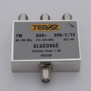TEROZ slučovač FM+DAB+DVB-T
